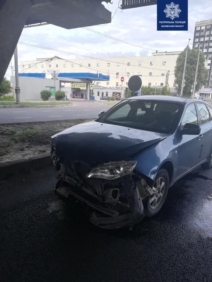 В Харькове не поделили дорогу две «легковушки»: пострадала женщина, - ФОТО, фото-1