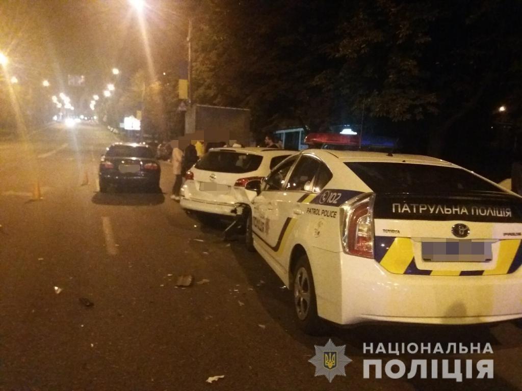 ДТП с патрульной машиной: в харьковской полиции рассказали подробности аварии, - ФОТО, фото-1