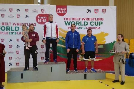 Харьковчанин завоевал две медали на кубке мира по борьбе на поясах, - ФОТО, фото-2
