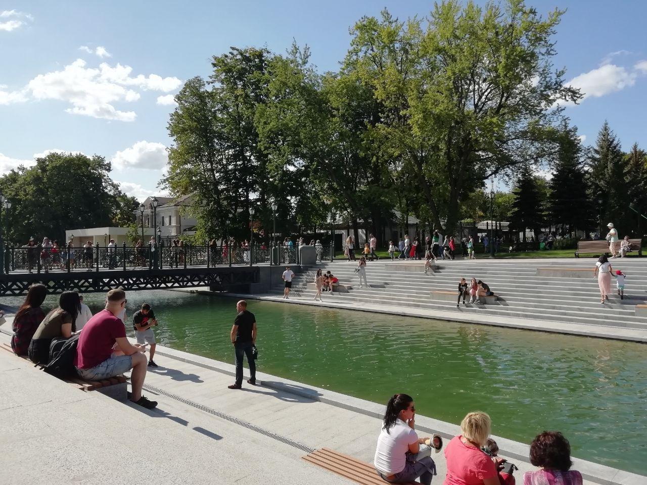 Сколько денег потратили на реконструкцию «Каскада» и озеро в саду Шевченко, - ФОТО, фото-7