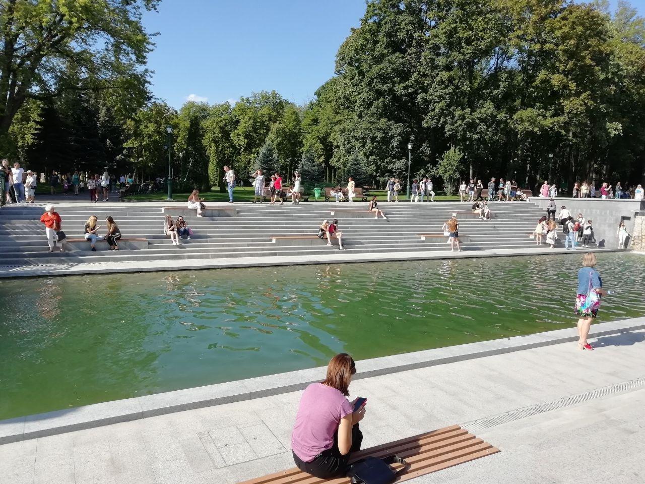 Сколько денег потратили на реконструкцию «Каскада» и озеро в саду Шевченко, - ФОТО, фото-8