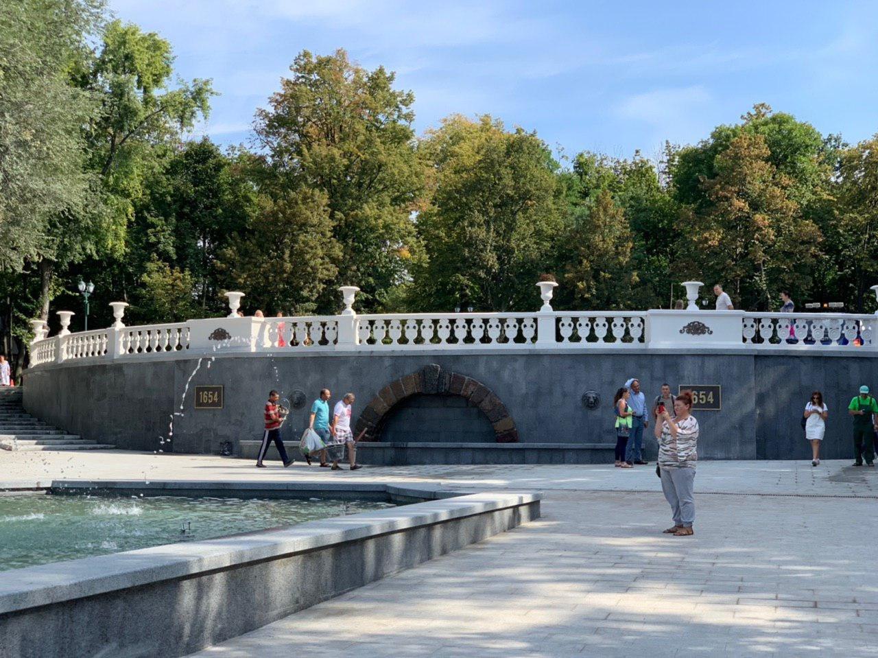 Сколько денег потратили на реконструкцию «Каскада» и озеро в саду Шевченко, - ФОТО, фото-1
