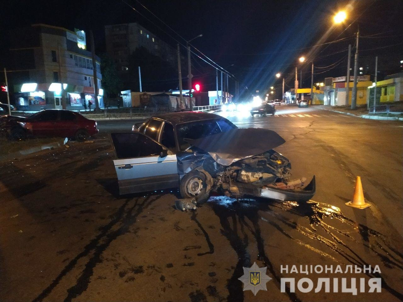 ДТП на Салтовке с пострадавшими: полиция устанавливает причины аварии, - ФОТО, фото-2