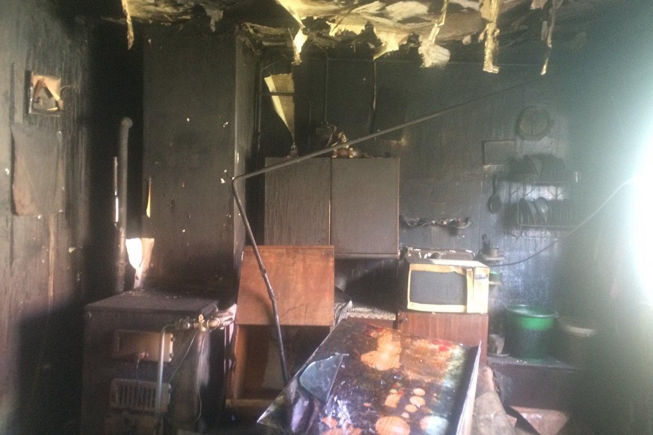 На Харьковщине во время пожара спасатели обнаружили труп пенсионерки, - ФОТО, фото-2