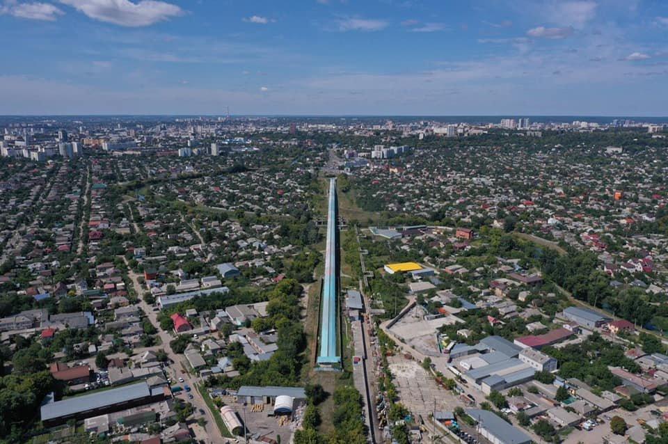 В мэрии планируют построить новую дорогу, которая соединит Салтовку с центром Харькова, - ФОТО, фото-1