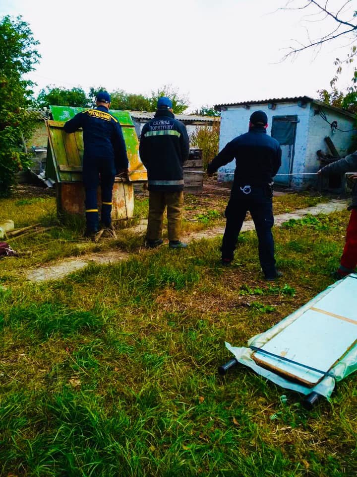 На Харьковщине пожилой мужчина упал в колодец, - ФОТО, фото-1
