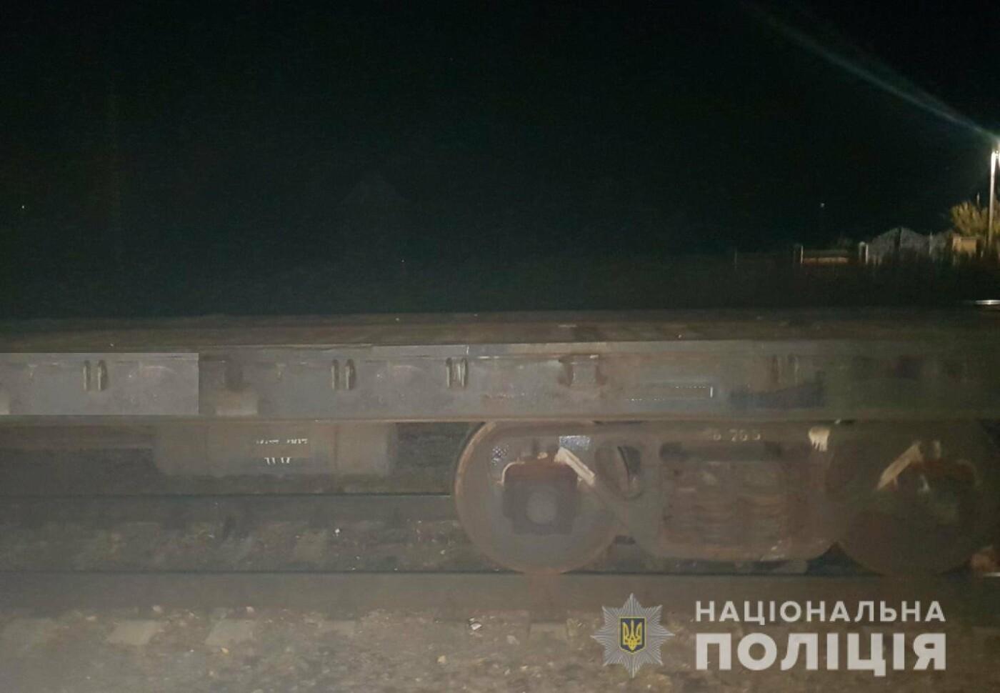 На Харьковщине грузовой поезд насмерть сбил мужчину, сидевшего на ...