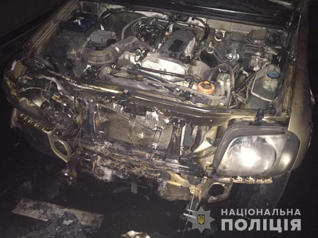 В Харькове задержали мужчину, который ночью поджег внедорожник, - ФОТО, фото-1