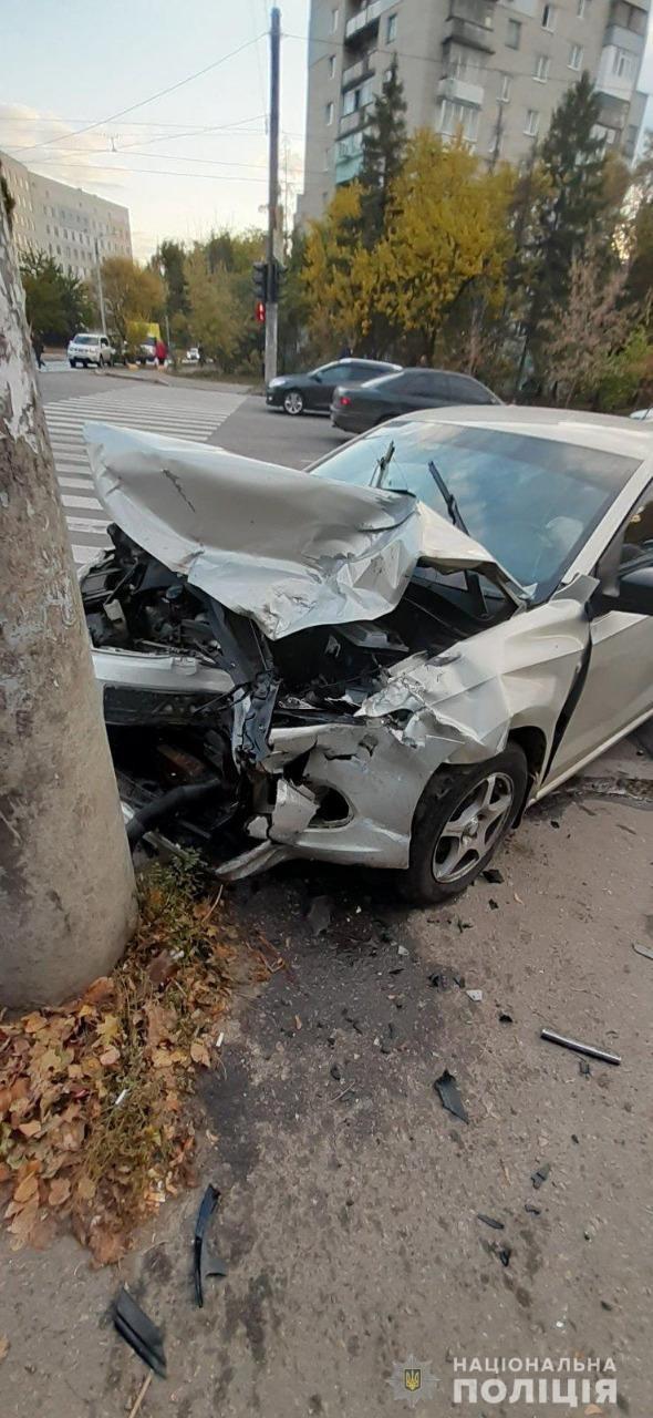 В лобовом столкновении машин на ХТЗ пострадала полуторагодовалая девочка, - ФОТО, фото-2