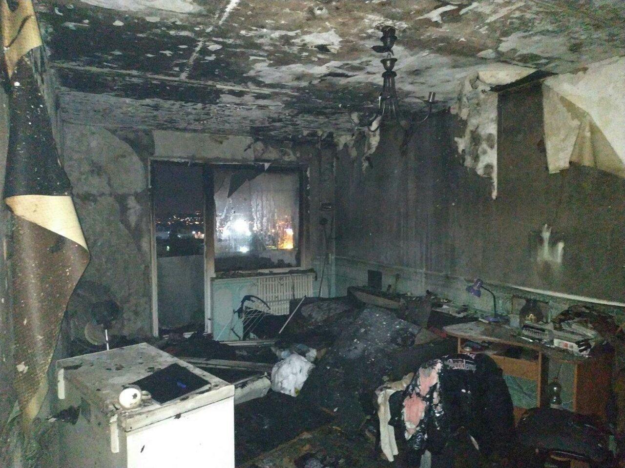 В Харькове загорелась квартира в «девятиэтажке», - ФОТО, фото-1