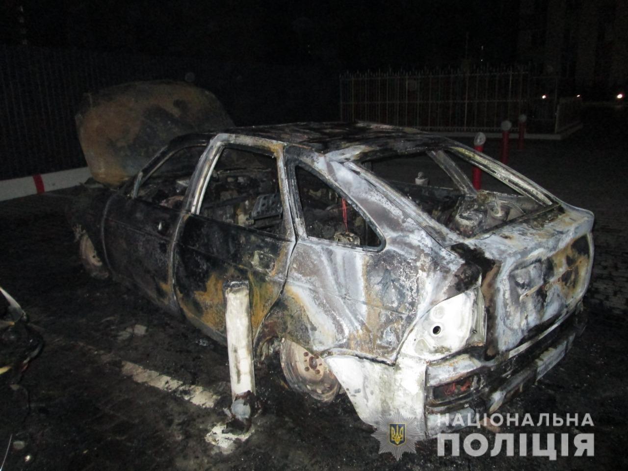 В Харькове во дворе жилого дома подожгли автомобили «ВАЗ» и «Honda», - ФОТО, ВИДЕО, фото-3