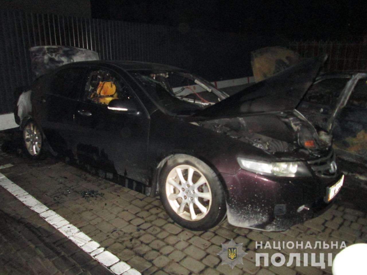 В Харькове во дворе жилого дома подожгли автомобили «ВАЗ» и «Honda», - ФОТО, ВИДЕО, фото-5