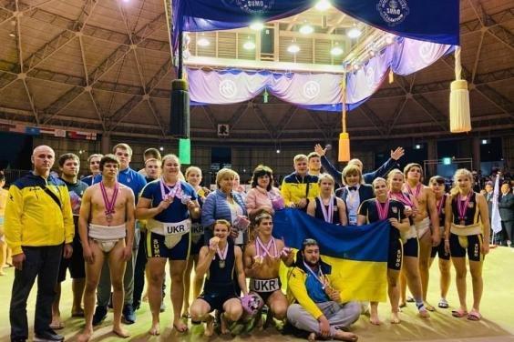 Историческая победа: харьковские сумоисты завоевали шесть медалей на чемпионате мира, фото-1