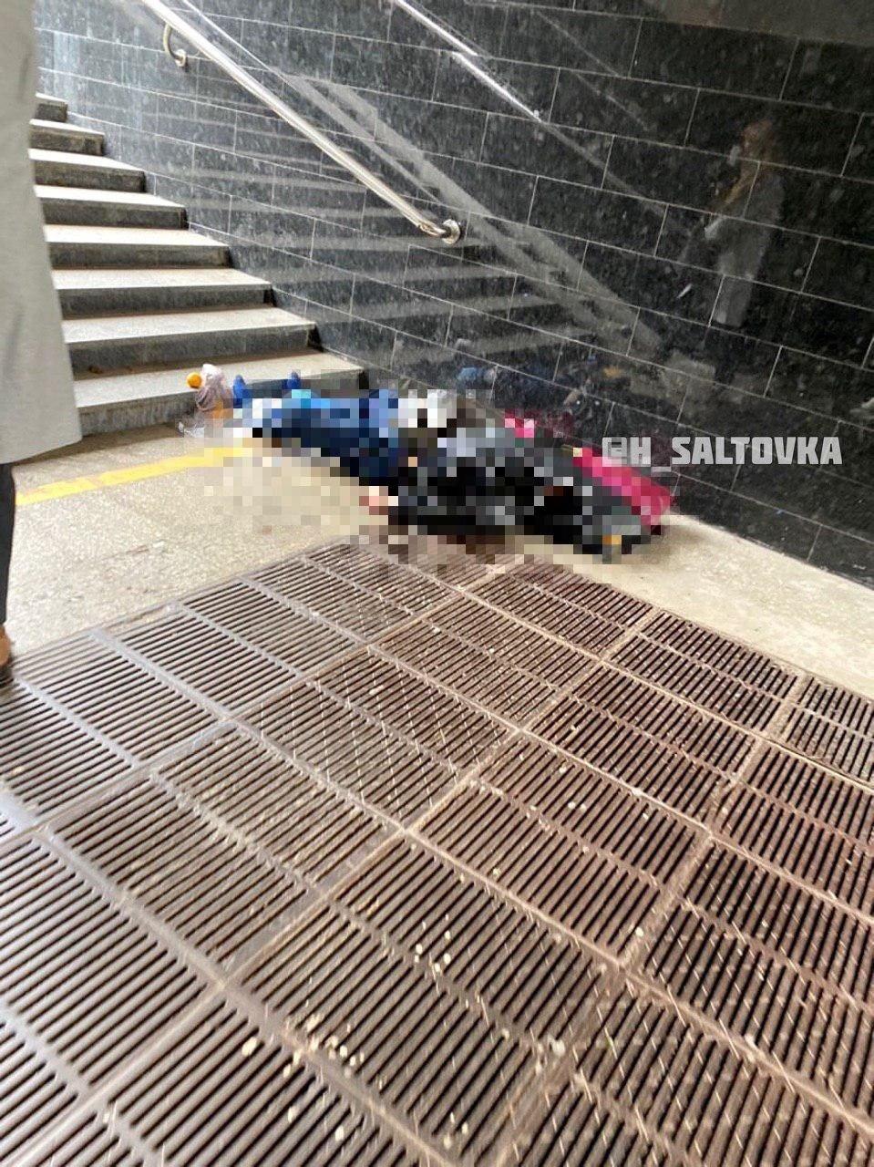 В переходе одной из станций Харьковского метро умерла женщина, - ФОТО, фото-1