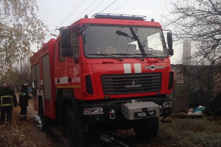 Под Харьковом загорелся жилой дом: один человек получил ожоги и отравился угарным газом, - ФОТО, фото-2