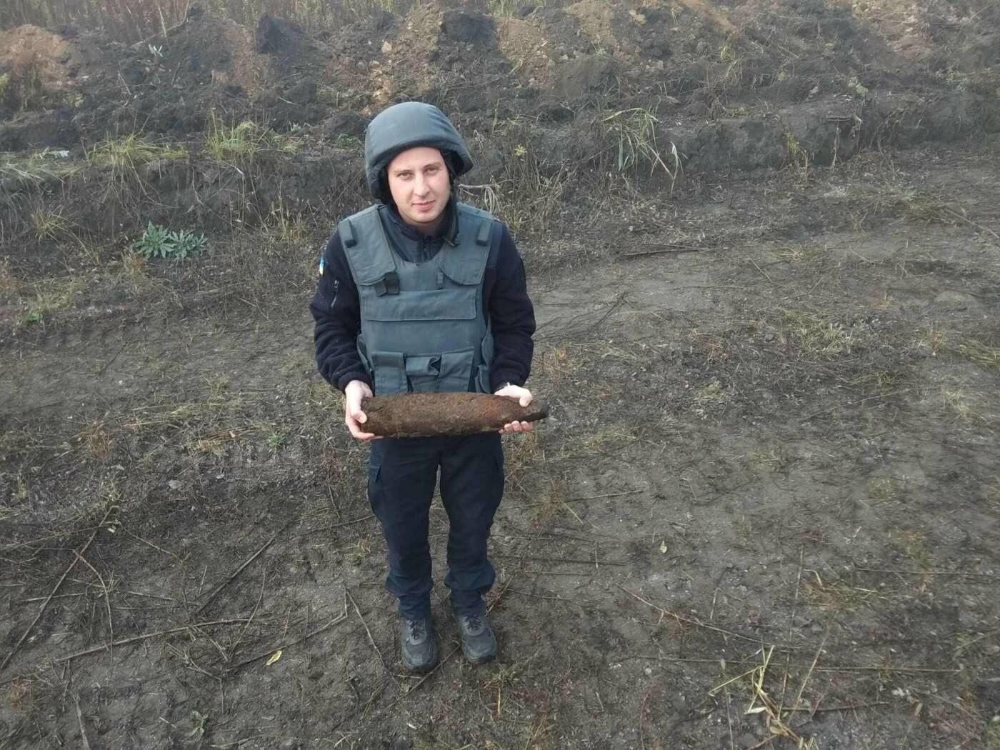 В Харьковской области подорвали 96 снарядов времен Второй мировой войны, - ФОТО, фото-1