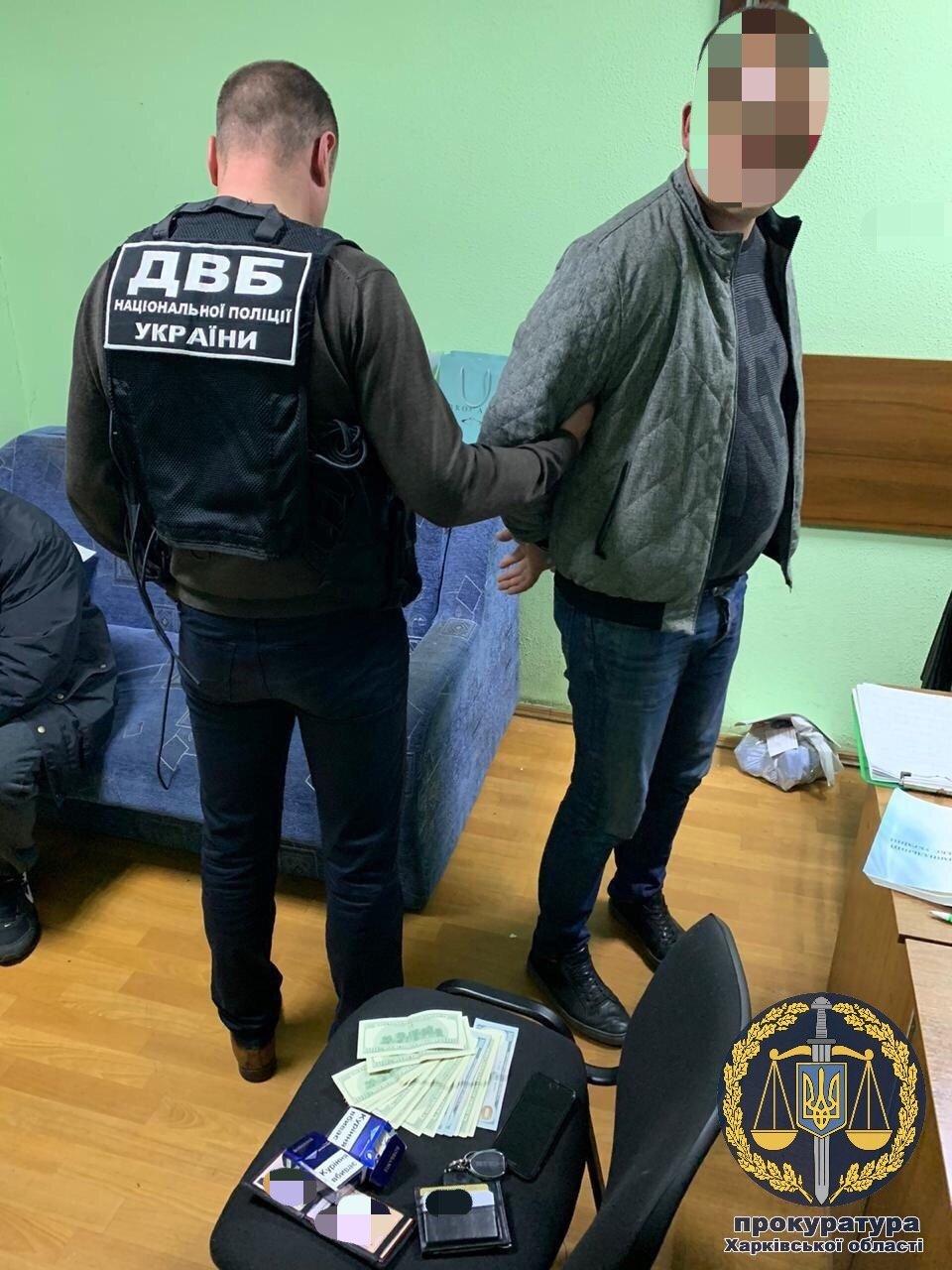 Пропонував закрити кримінальне провадження відносно друзів: у Харкові чоловік намагався підкупити слідчого поліції, - ФОТО, фото-1