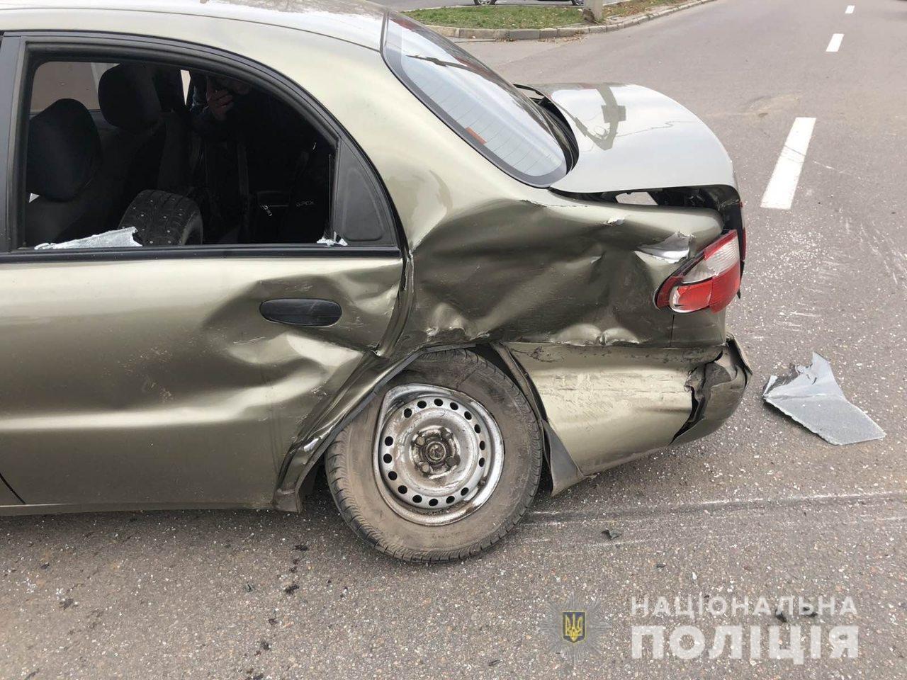 В Харькове внедорожник «влетел» в легковой автомобиль: пострадали дети и мужчина, - ФОТО, фото-1