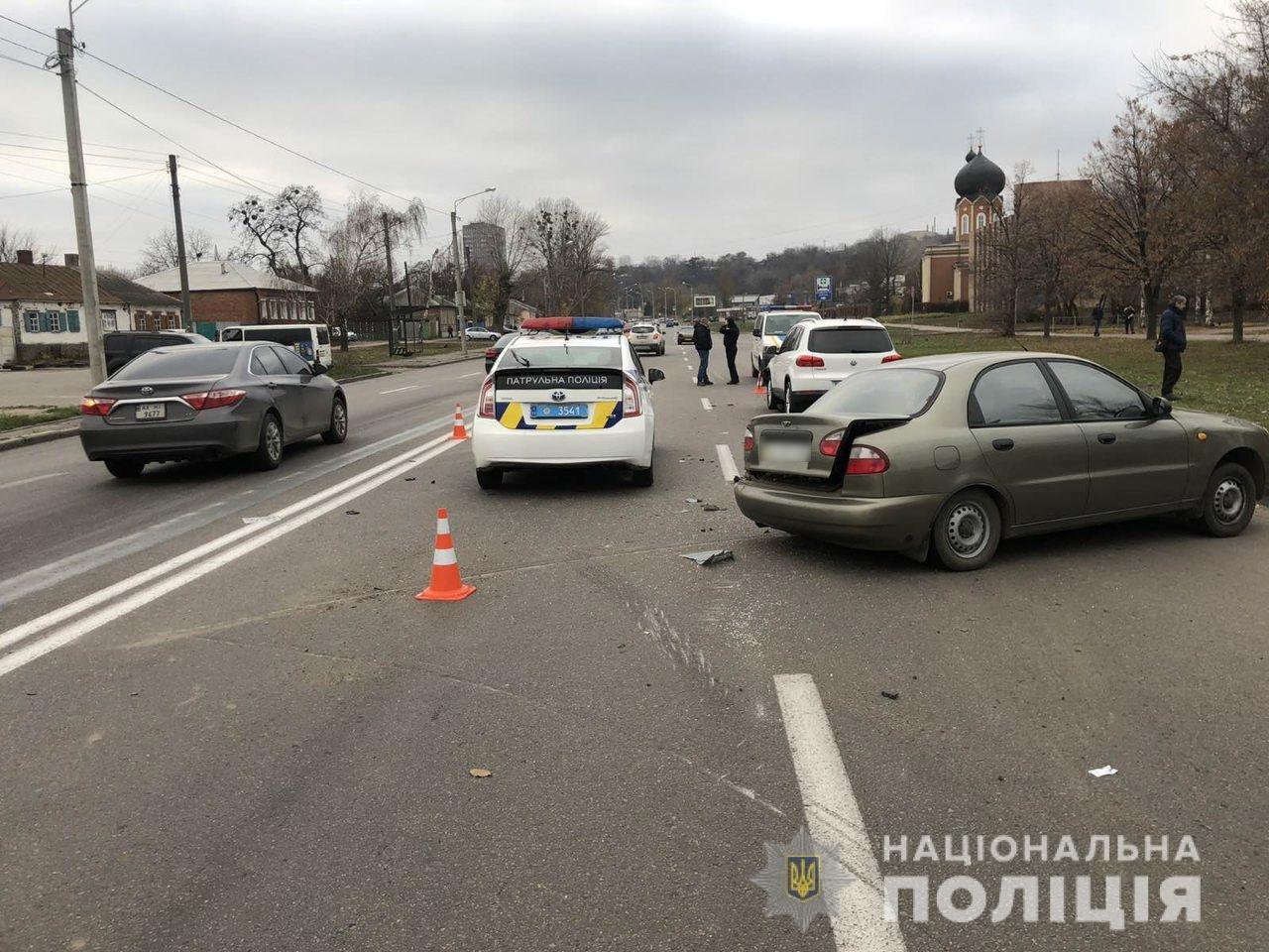 В Харькове внедорожник «влетел» в легковой автомобиль: пострадали дети и мужчина, - ФОТО, фото-4