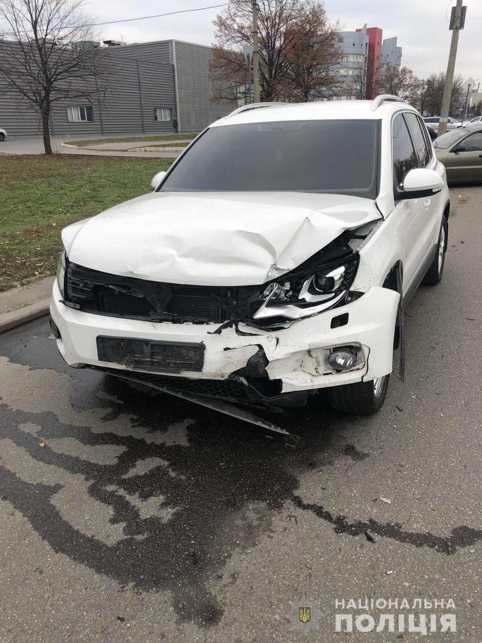 В Харькове внедорожник «влетел» в легковой автомобиль: пострадали дети и мужчина, - ФОТО, фото-5