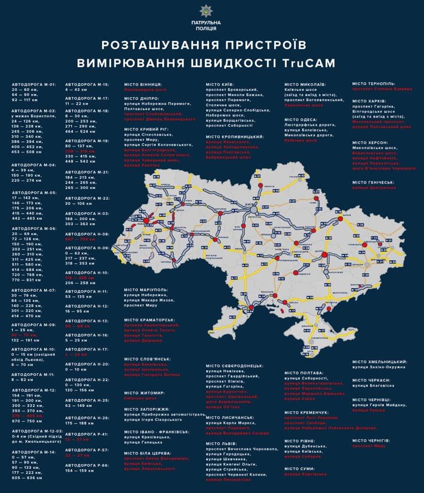 """На двух дорогах Харькова появятся новые приборы """"TruCam"""" , фото-2"""