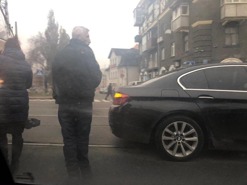 На Московском проспекте из-за ДТП образовалась пробка, - ФОТО, фото-2