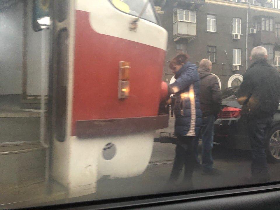 На Московском проспекте из-за ДТП образовалась пробка, - ФОТО, фото-3