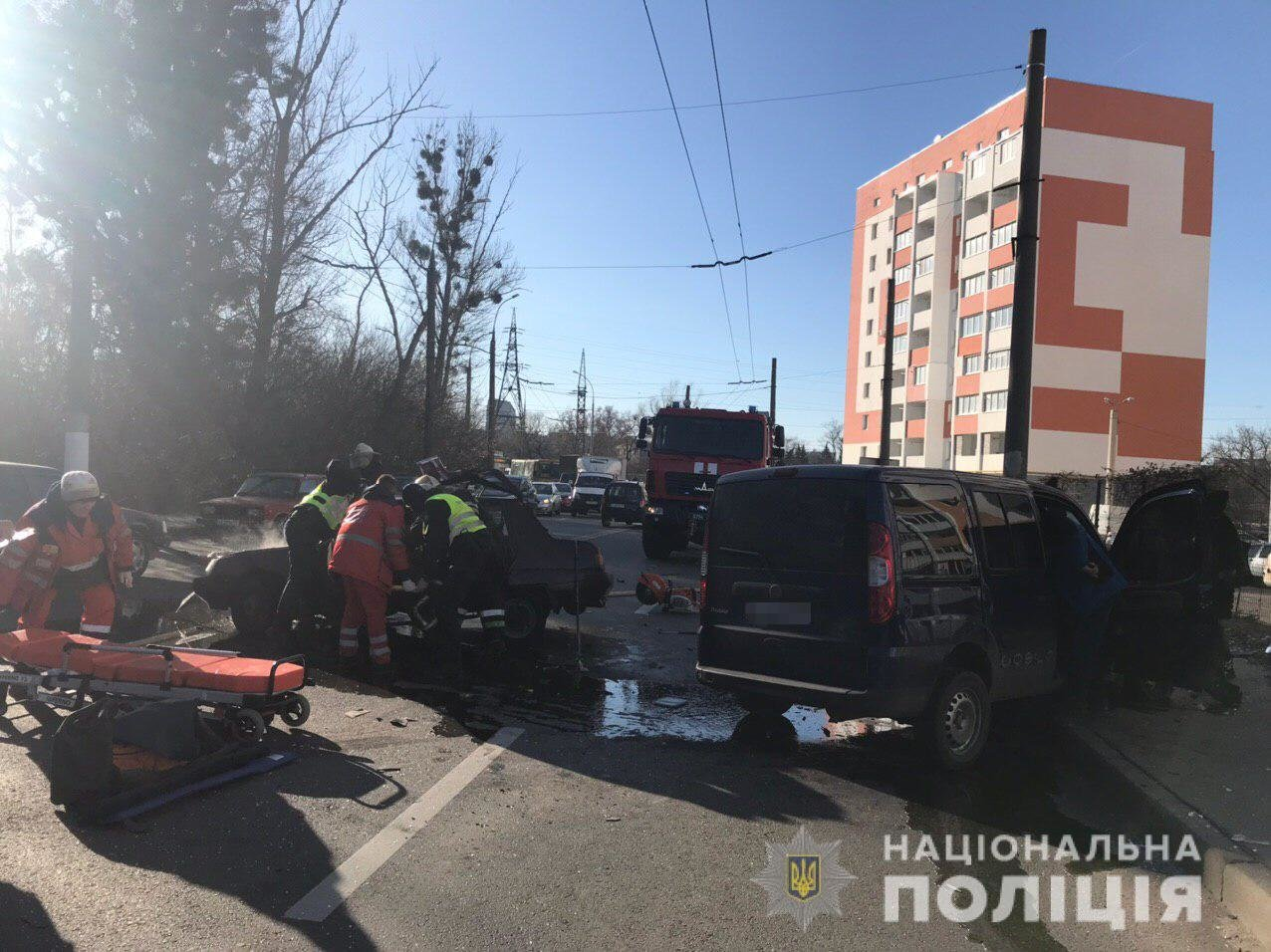 В Харькове пассажирка автомобиля погибла в результате ДТП, - ФОТО, фото-1