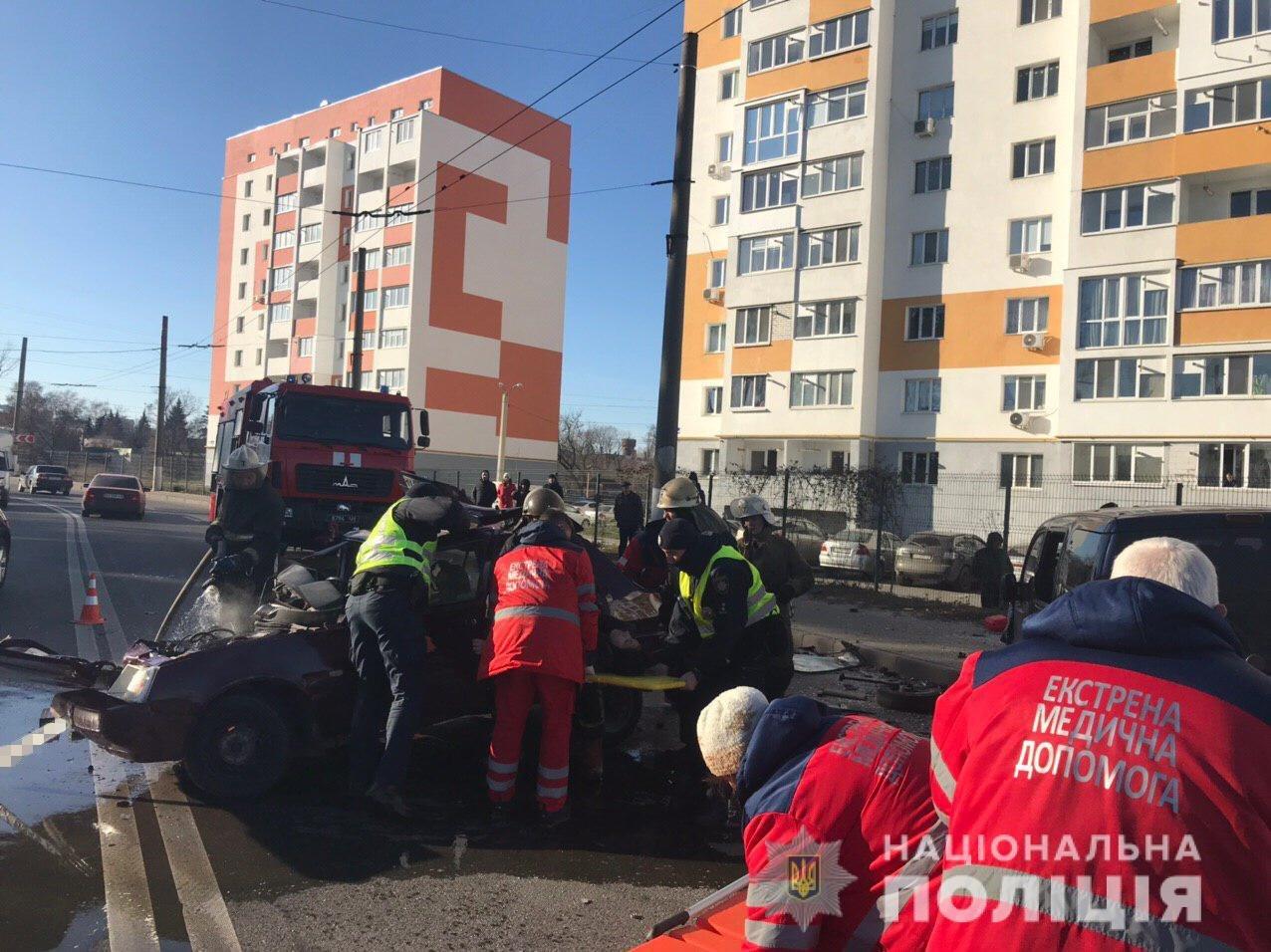 В Харькове пассажирка автомобиля погибла в результате ДТП, - ФОТО, фото-2