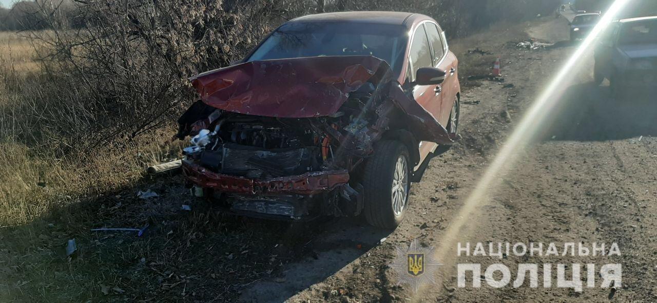 На трассе под Харьковом столкнулись «Ford» и «ВАЗ». Пострадала женщина, - ФОТО, фото-3
