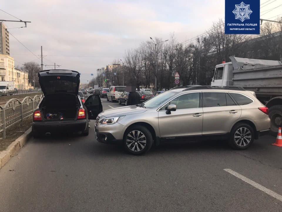В Харькове не поделили дорогу «Skoda» и «Subaru», - ФОТО, фото-1