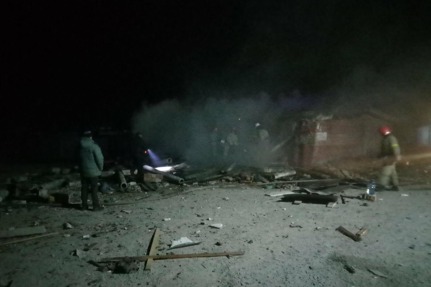 На Харьковщине из-за поджога гаражного кооператива произошел взрыв, - ФОТО, фото-1
