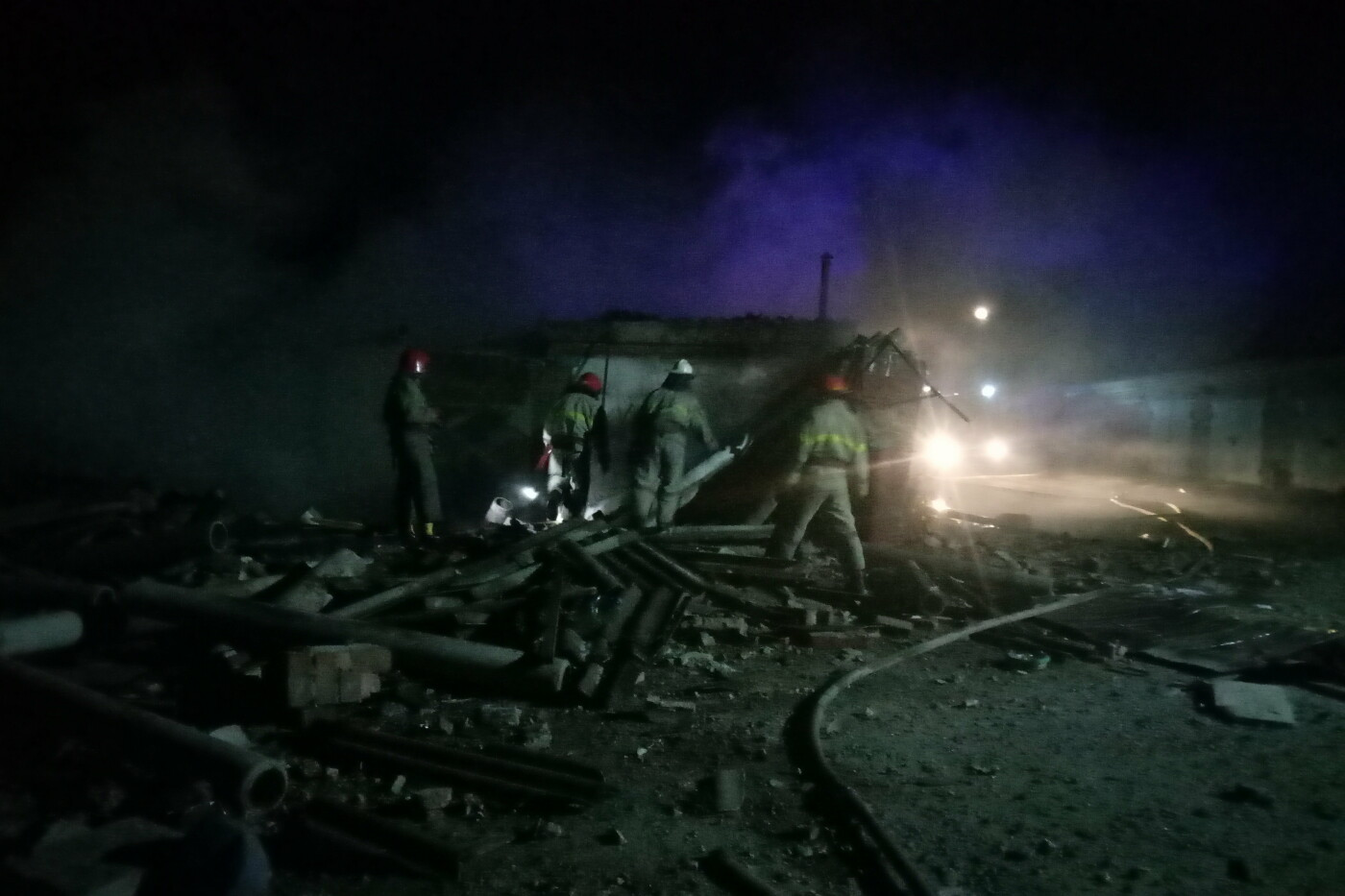 На Харьковщине из-за поджога гаражного кооператива произошел взрыв, - ФОТО, фото-2