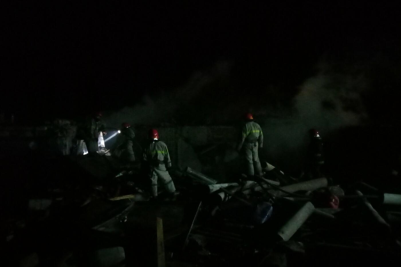 На Харьковщине из-за поджога гаражного кооператива произошел взрыв, - ФОТО, фото-3