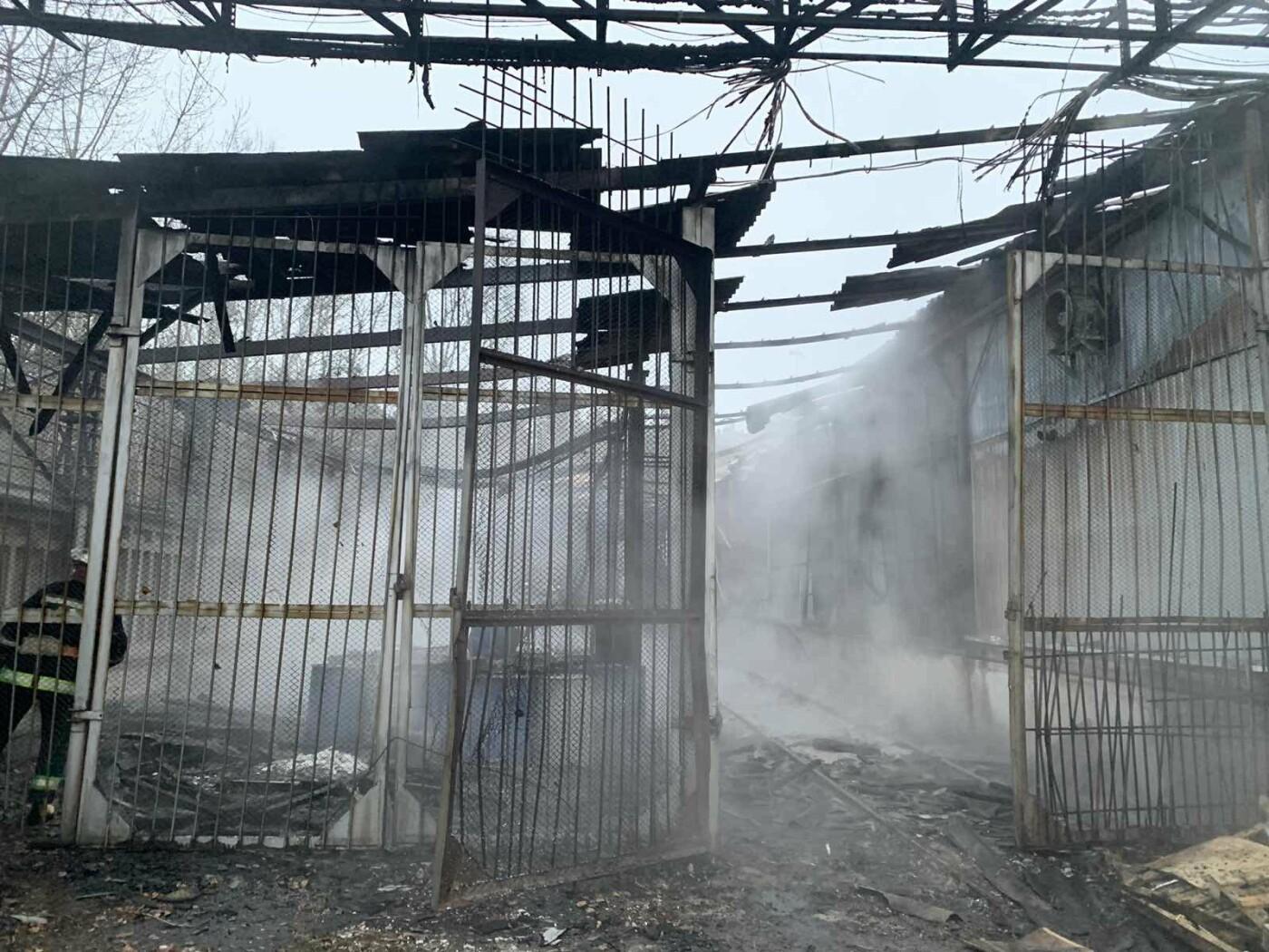 В Харьковской области загорелось предприятие по производству мыла, - ФОТО, фото-1