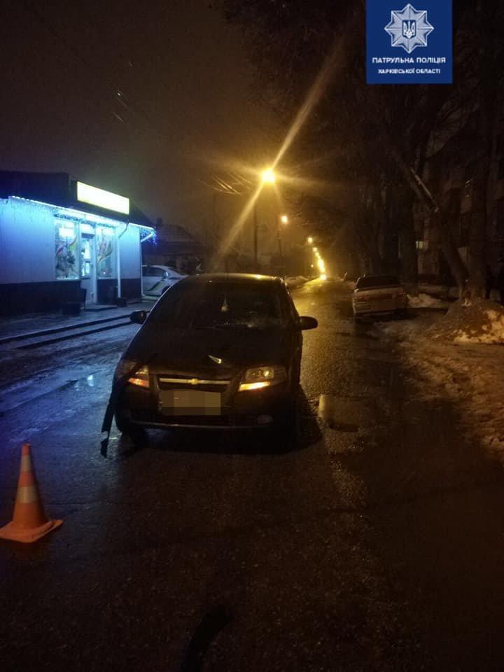 В Харькове легковой автомобиль «снес» пешехода: женщину доставили в больницу, - ФОТО, фото-1