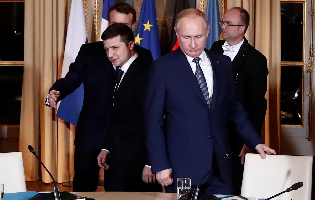 Улучшение ситуации на Донбассе или капитуляция. Что дала Украине встреча «нормандской четверки», - ФОТО, фото-12