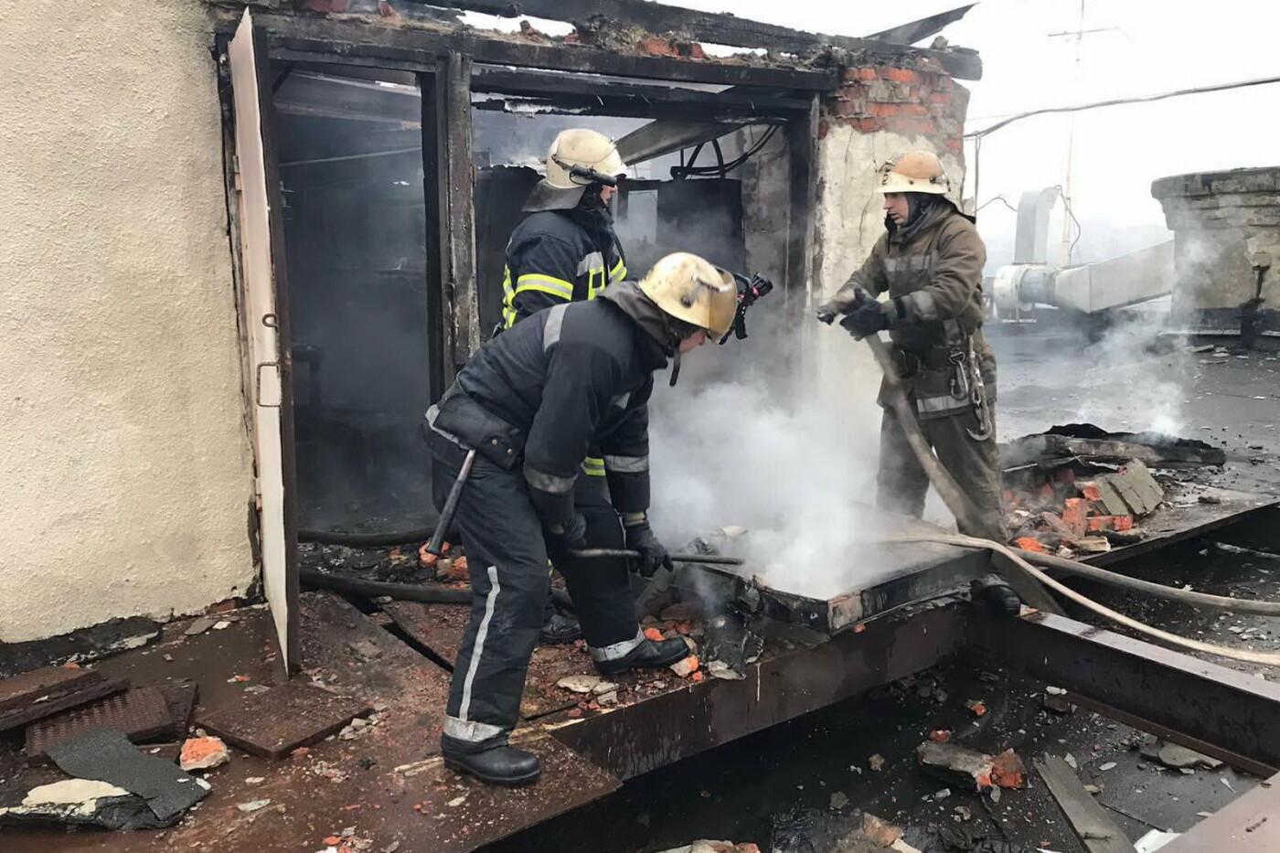 В Харькове спасатели тушили пожар на мясокомбинате, - ФОТО, фото-3