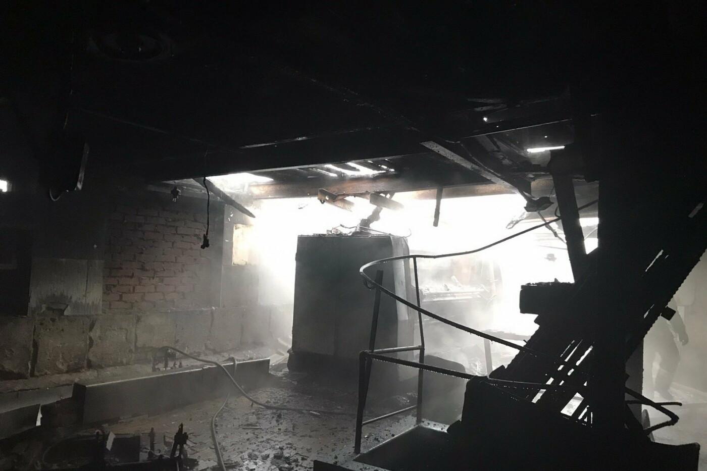 В Харькове спасатели тушили пожар на мясокомбинате, - ФОТО, фото-4