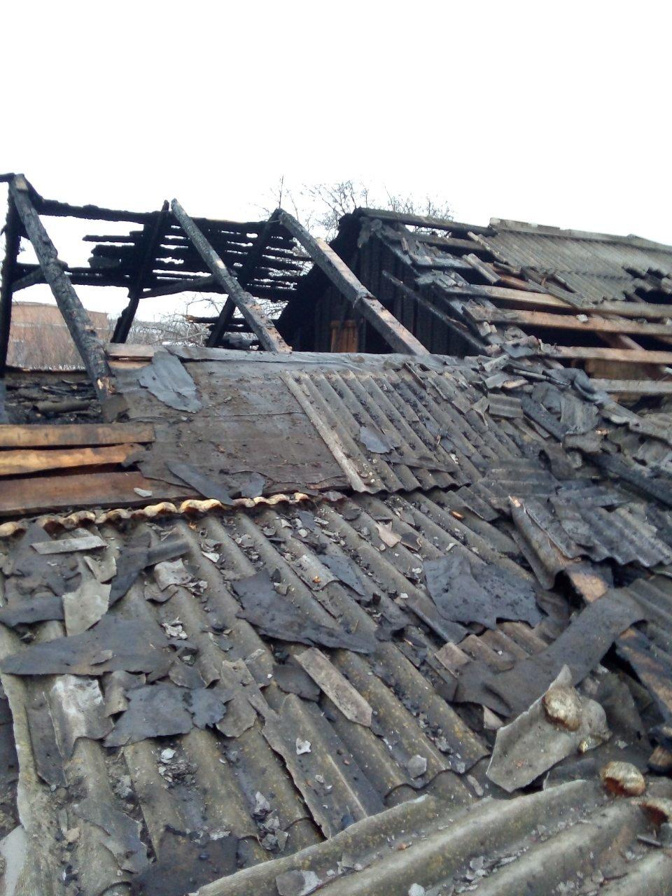 На Харьковщине спасатели несколько часов тушили загоревшийся частный дом, - ФОТО, фото-4