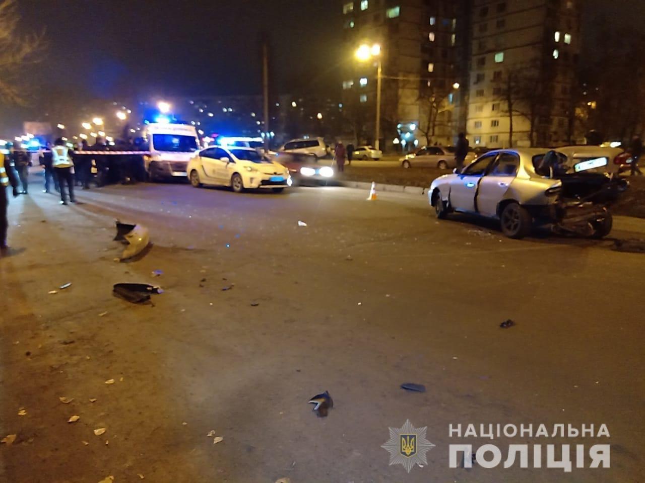 В Харькове пьяный водитель устроил ДТП и пытался скрыться с места аварии, - ФОТО, фото-1