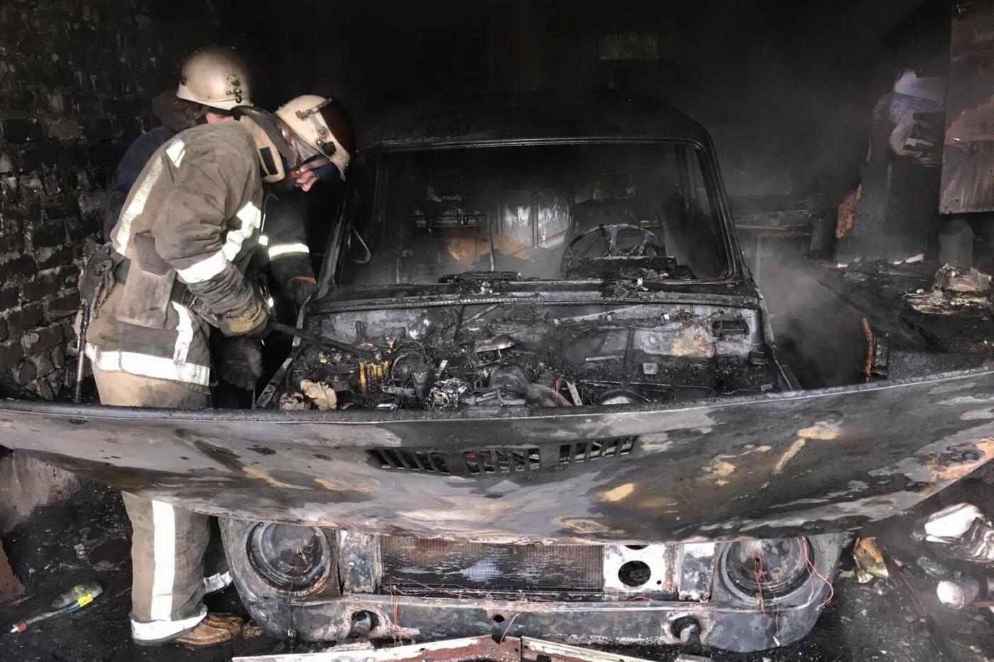 Пытался сам потушить огонь: в Харькове во время пожара в гаражном кооперативе пострадал мужчина, - ФОТО, фото-2