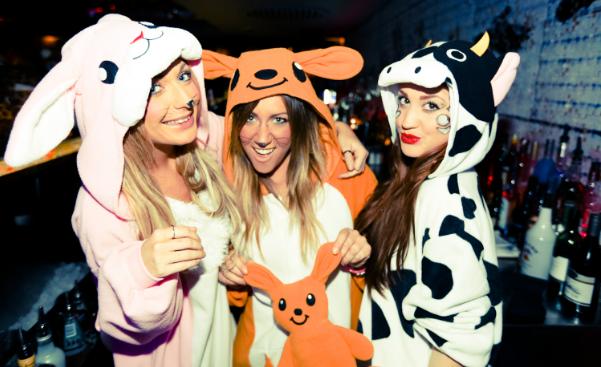 Пижамные вечеринки – лучшие тематические вечеринки и костюмированные праздники, фото-14