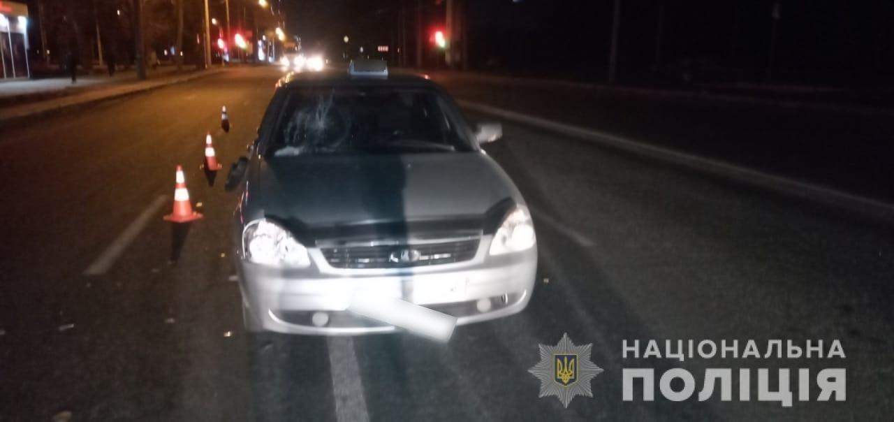 В Харькове авто «Lada Priora» «снесло» двух пешеходов: пострадавшие в больнице, - ФОТО, фото-1