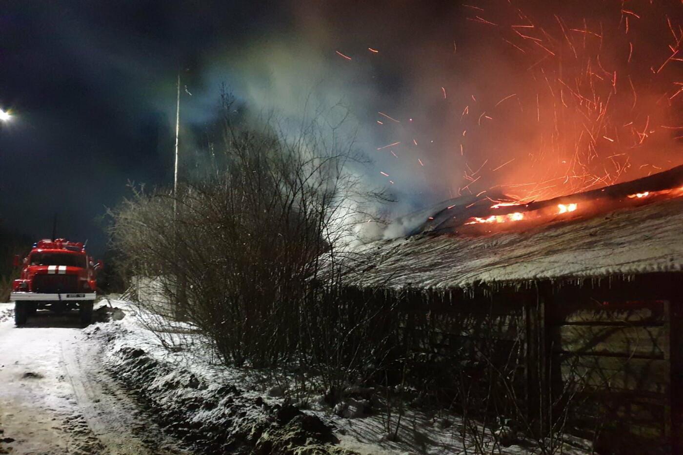 На Харьковщине спасатели восемь часов тушили пожар в частном доме, - ВИДЕО, ФОТО, фото-4