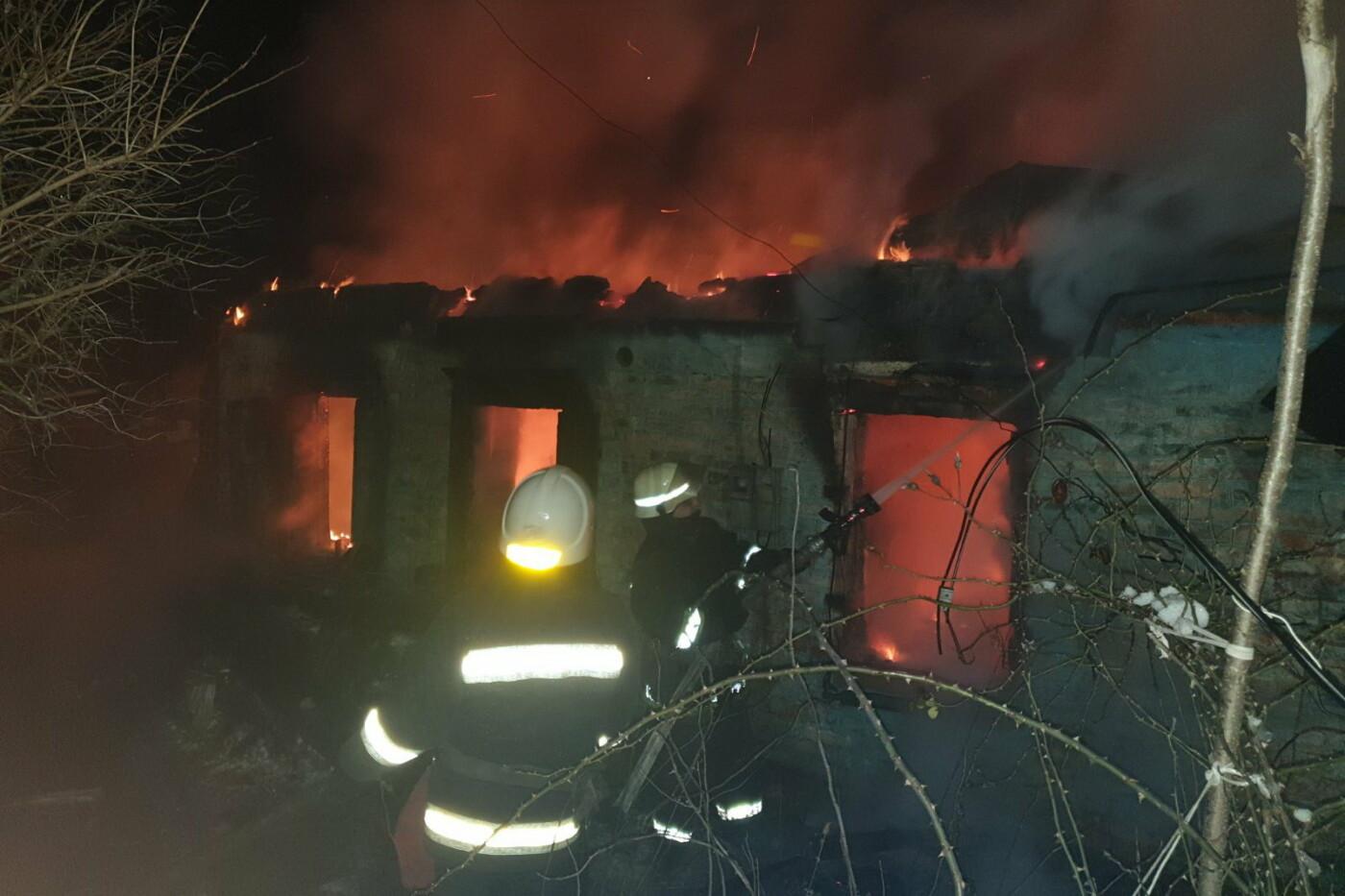На Харьковщине спасатели восемь часов тушили пожар в частном доме, - ВИДЕО, ФОТО, фото-3