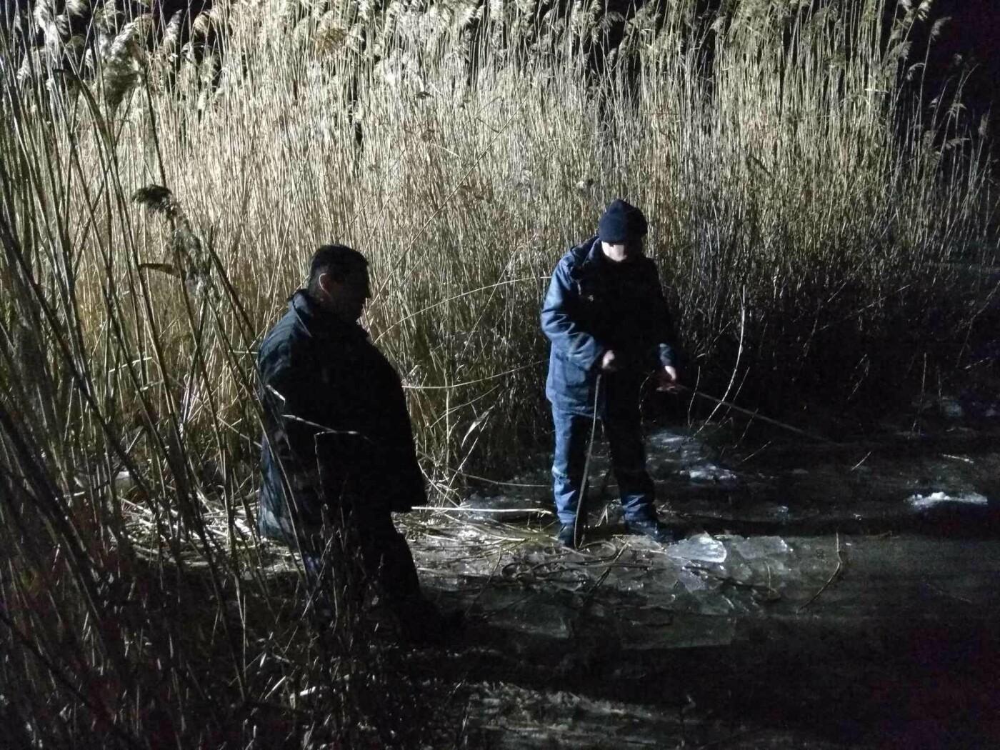 На Харьковщине трое школьников провалились под лед: двое подростков погибли, - ФОТО, фото-1