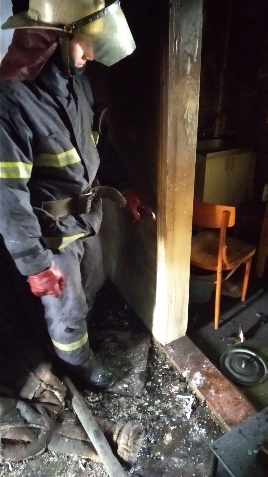 В Песочине во время пожара погиб 92-летний мужчина, - ФОТО, фото-1