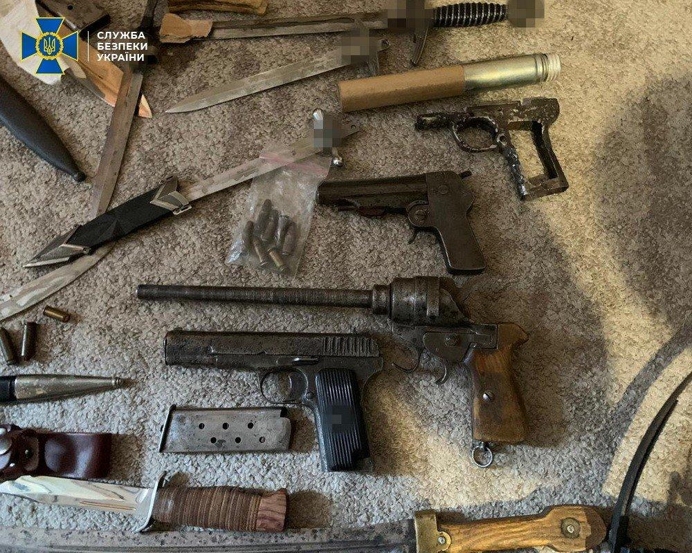 В Харькове СБУ «накрыла» торговца оружием, открывшего мастерскую у себя дома, - ФОТО, фото-2
