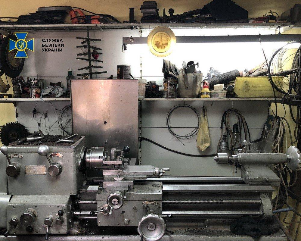 В Харькове СБУ «накрыла» торговца оружием, открывшего мастерскую у себя дома, - ФОТО, фото-5